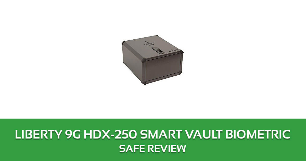 Liberty 9G HDX-250 Smart Vault Biometric