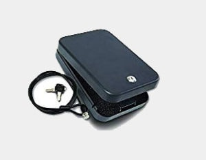 SnapSafe 75220 Keyed Lock Box For Handguns and Valuables (XX-Large 11.5 x 8.5 x 2.5-Inch)