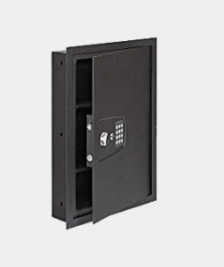"SnapSafe In Wall Safe, Electronic Hidden LED Home Security Safe, Measures 16.25""x 22""x 4"""
