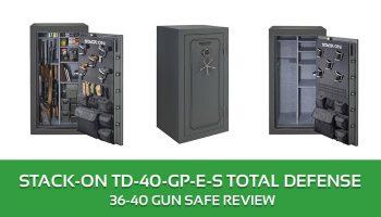 Stack-On TD-40-GP-E-S Total Defense 36-40 Gun Saf