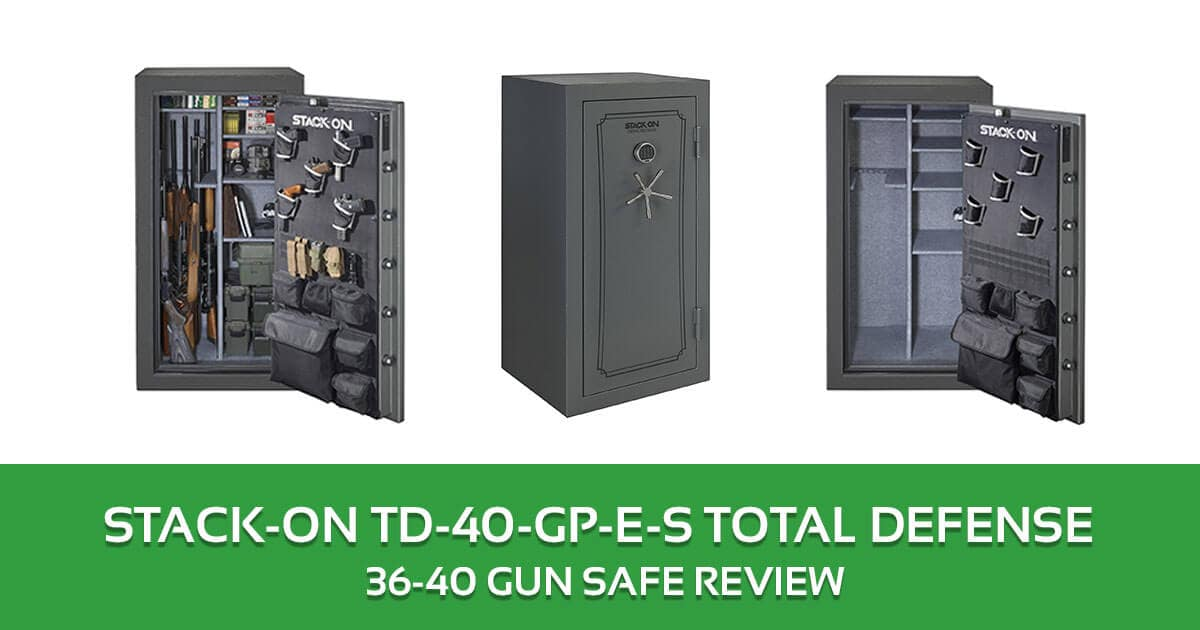 Stack-On TD-40-GP-E-S Total Defense 36-40 Gun Saf