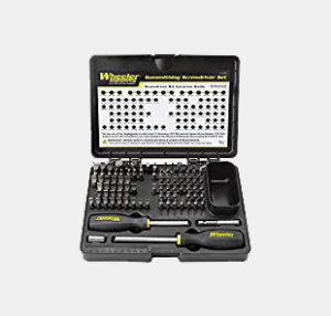 Wheeler 89-Piece Deluxe Gunsmithing Screwdriver Set, Black/Yellow Review