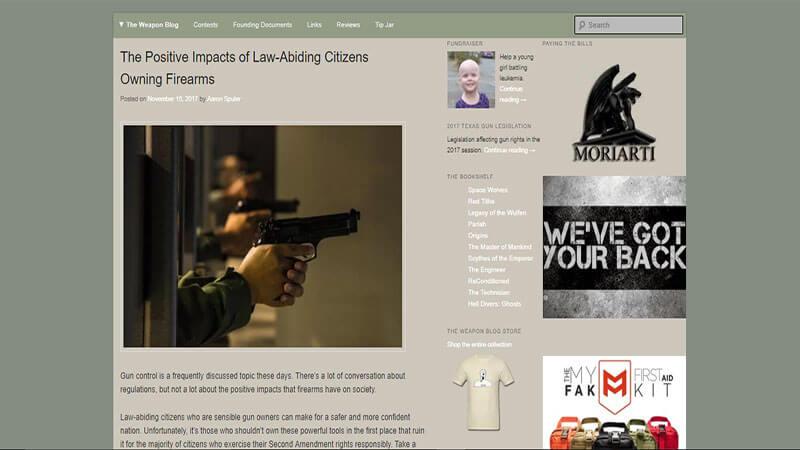 Weapon Blog