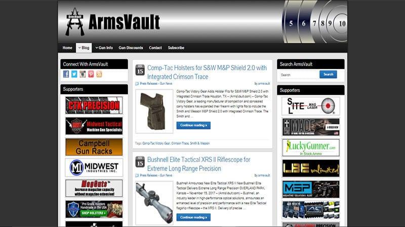 Arms Vault
