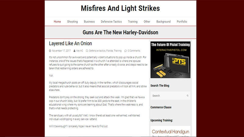 Misfires and Light Strikes
