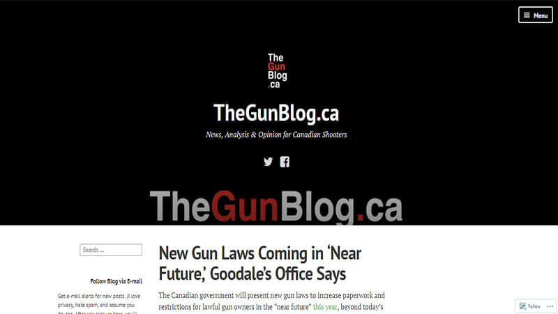 The Gun Blog
