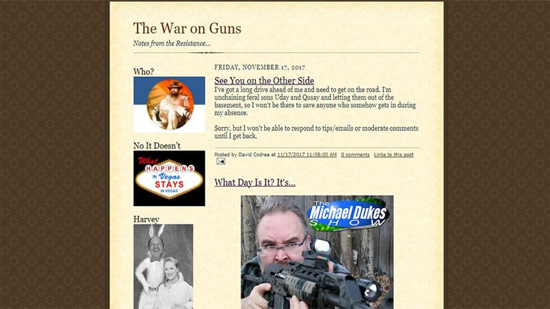 The War on Guns