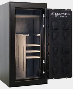 NEW and IMPROVED Steelwater Extreme Duty 22 Long Gun Fire Protection for 120 Minutes AMHD593024-blk