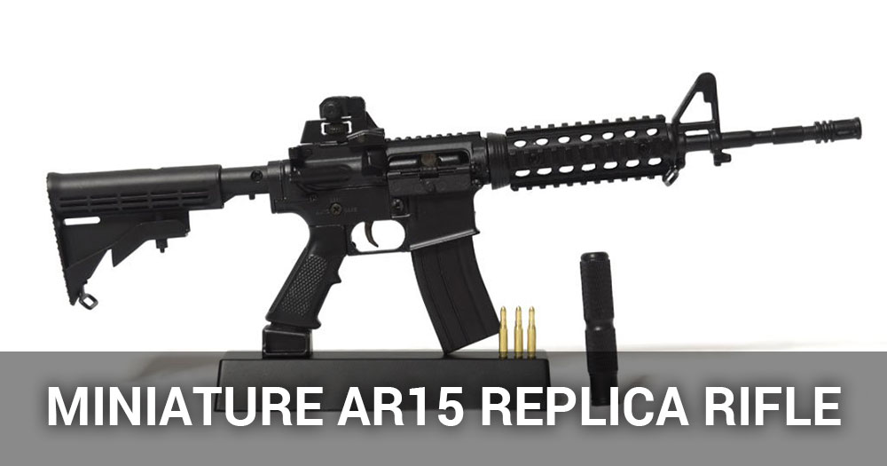 Miniature Ar15 Replica Rifle Review 1