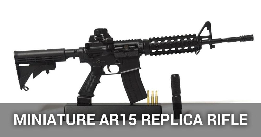 Miniature Ar15 Replica Rifle Review 1