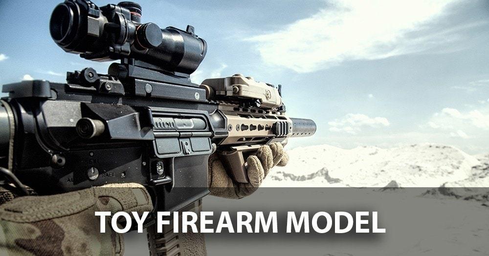 Toy Firearm Model