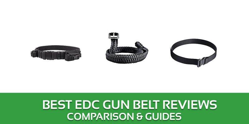 Best EDC Gun Belt Reviews – 2018 Top Picks and Buyer's Guide