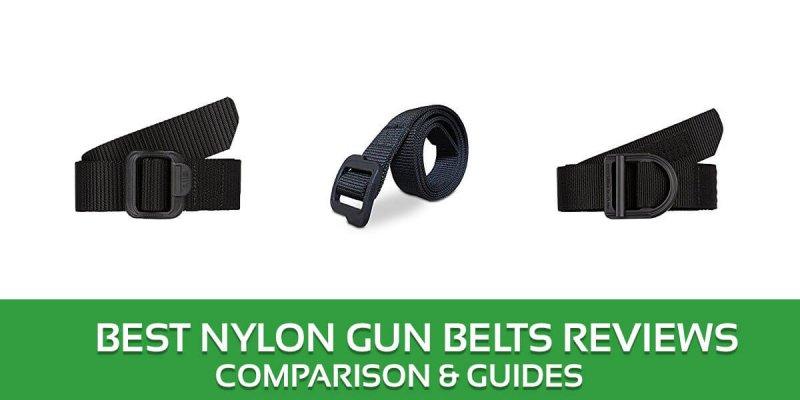 Best Nylon Gun Belts Reviews – 2018 Top Picks and Buyer's Guide