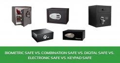 Image Result For Electronic Vs Combination Gun Safe