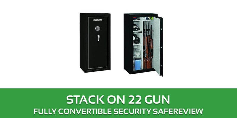 Stack on 22 Gun Safe Review: SS-22-MB-E Convertible Security Safe