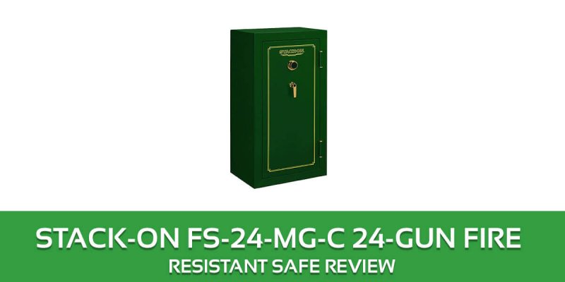 Stack-On 24-Gun Safe Reviews: with Fire Resistant & Combination Lock Reviews FS-24-MG-C