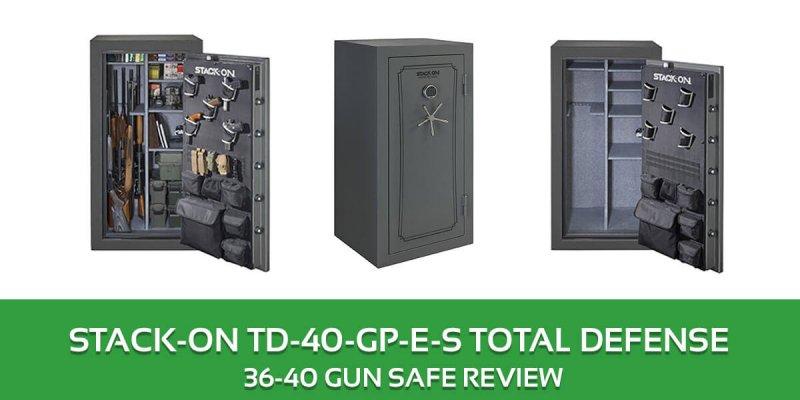 Stack on 36 – 40 Gun Safe Review: TD-40-GP-E-S Total Defense Safe